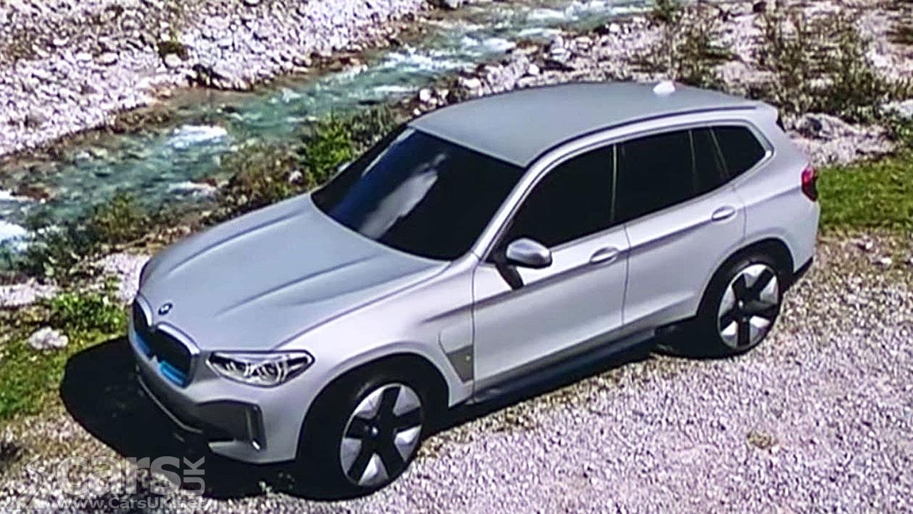 Photo BMW iX3 production version