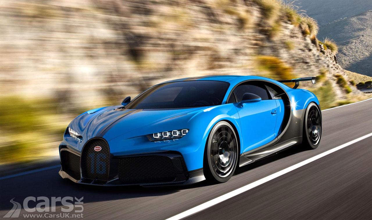 Photo Bugatti Chiron Pur Sport