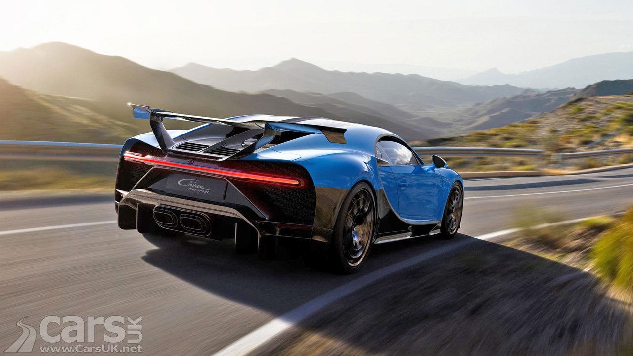 Photo Bugatti Chiron Pur Sport Rear