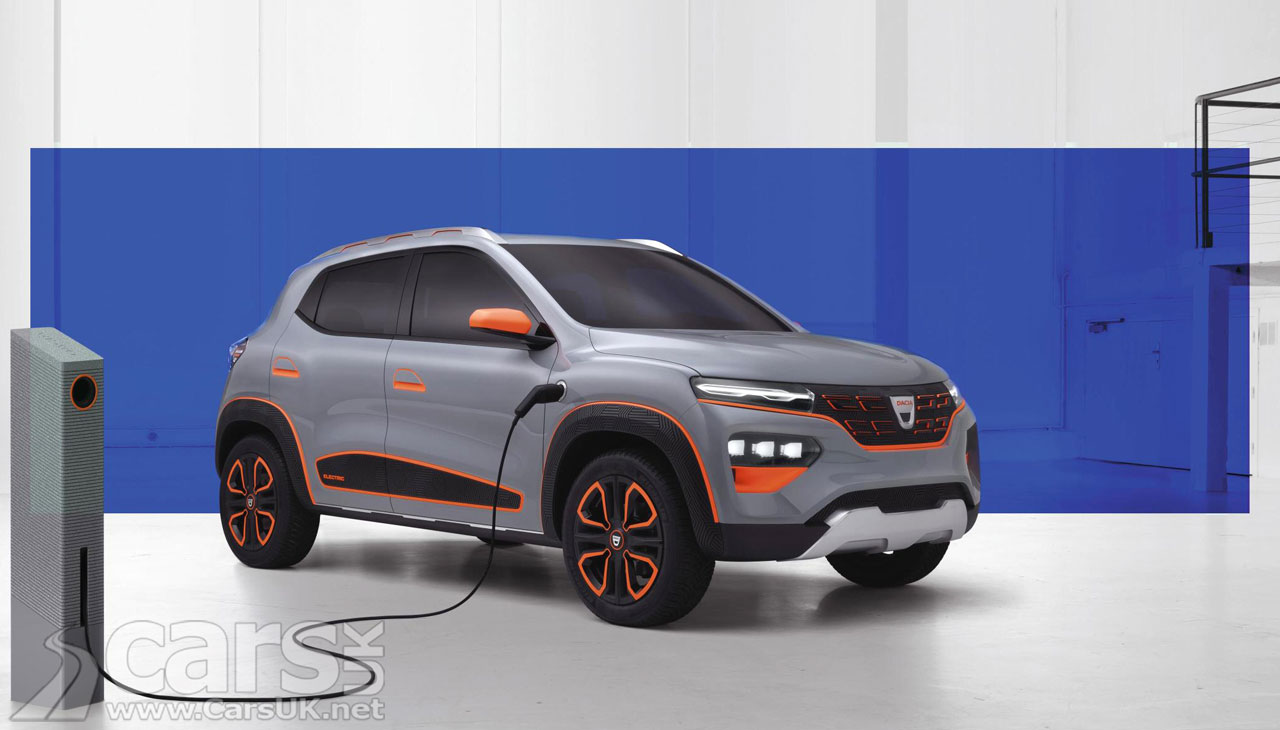 Photo Dacia Spring Electric Concept
