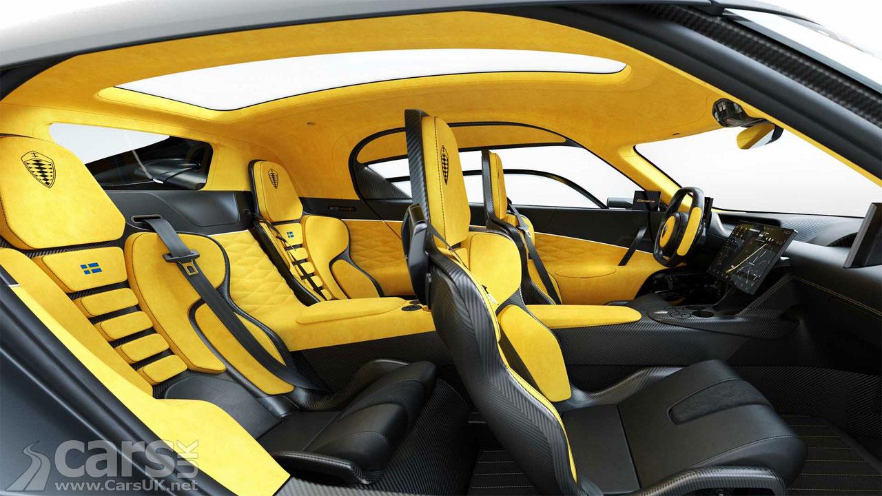 Photo Koenigsegg Gemera Interior
