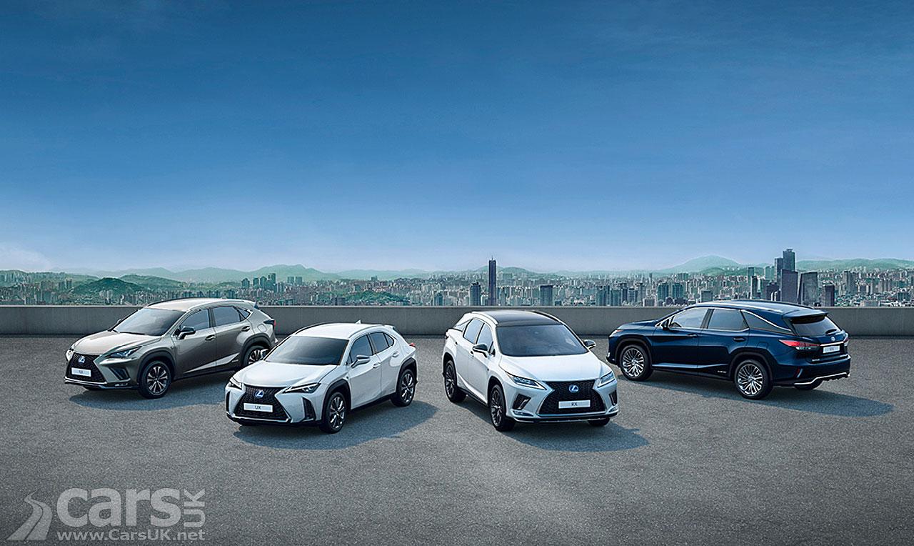 Photo Lexus Hybrid SUVs