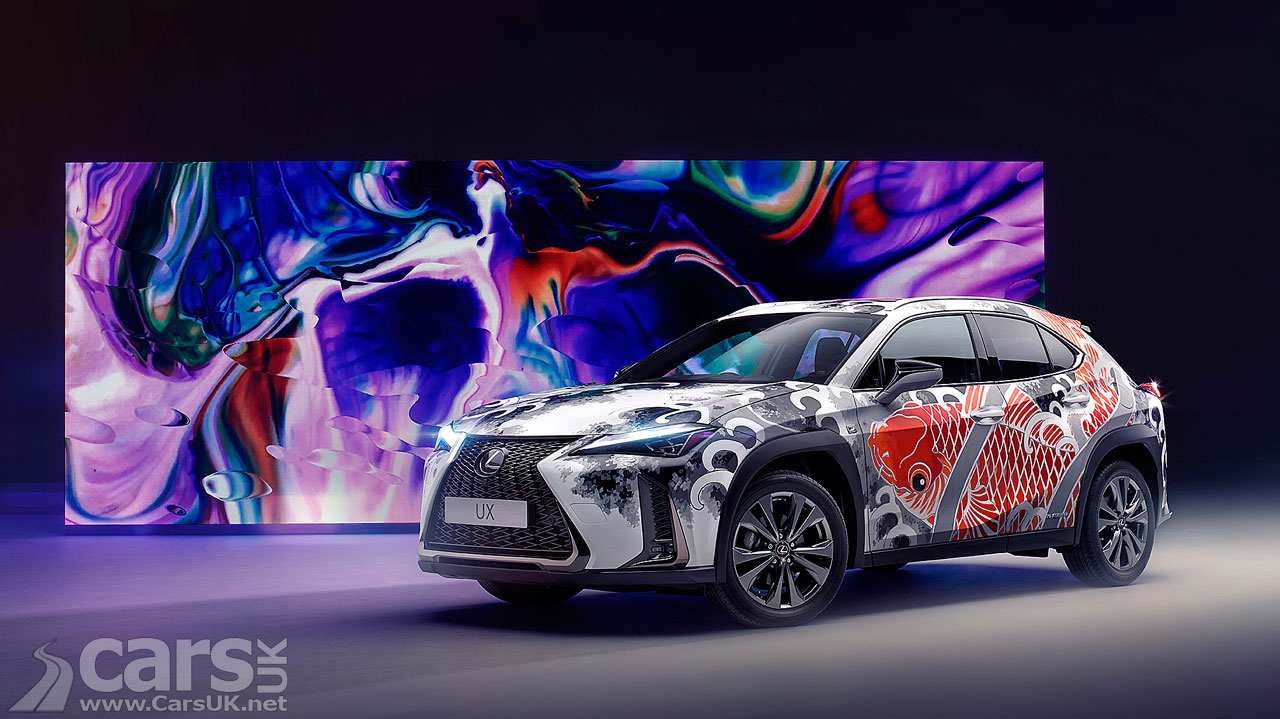 Photo Lexus UX Tattoo