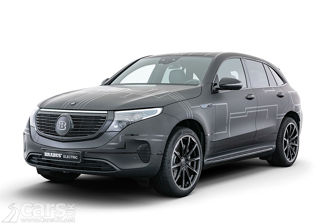 Photo Electric Mercedes EQC by Brabus