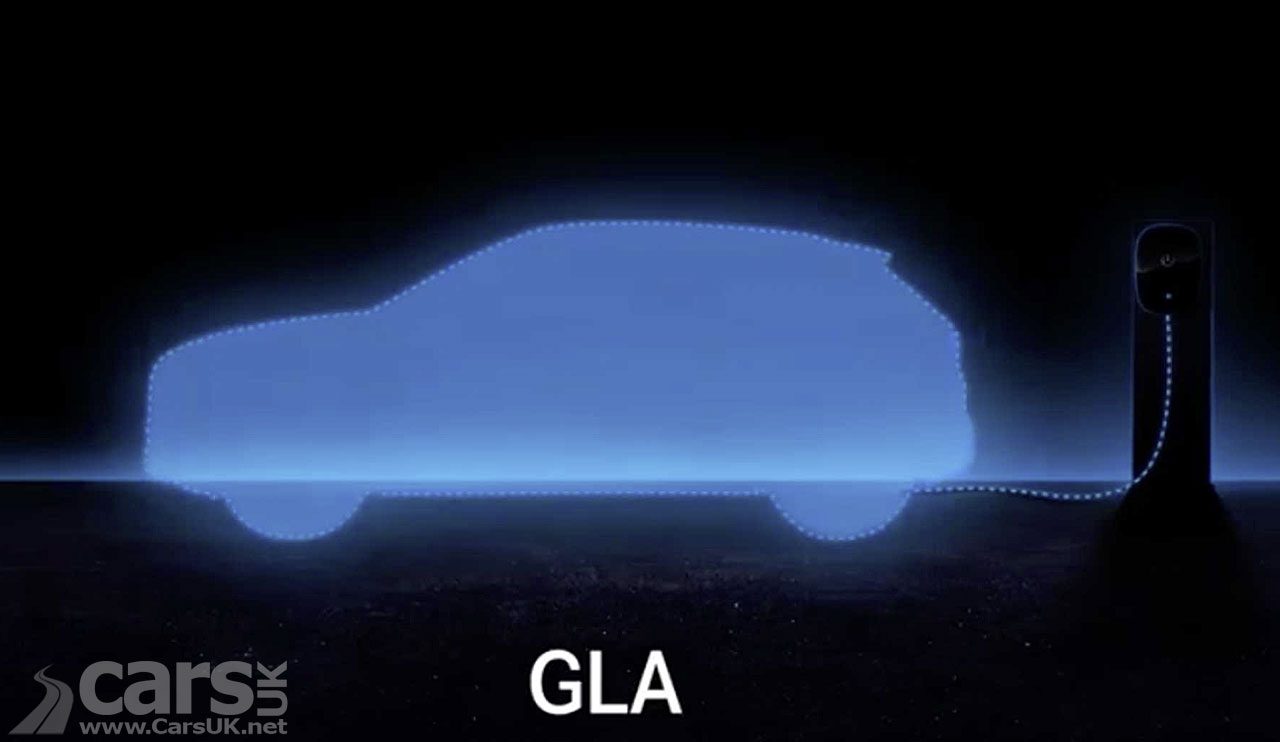 Photo Mercedes tease new plug-in Hybrid versions of the GLA, CLA and CLA Shooting Brake