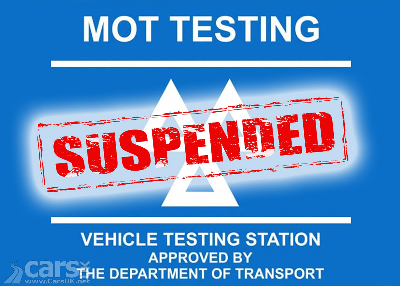 Photo MoT Testing for cars SUSPENDED from 30 March