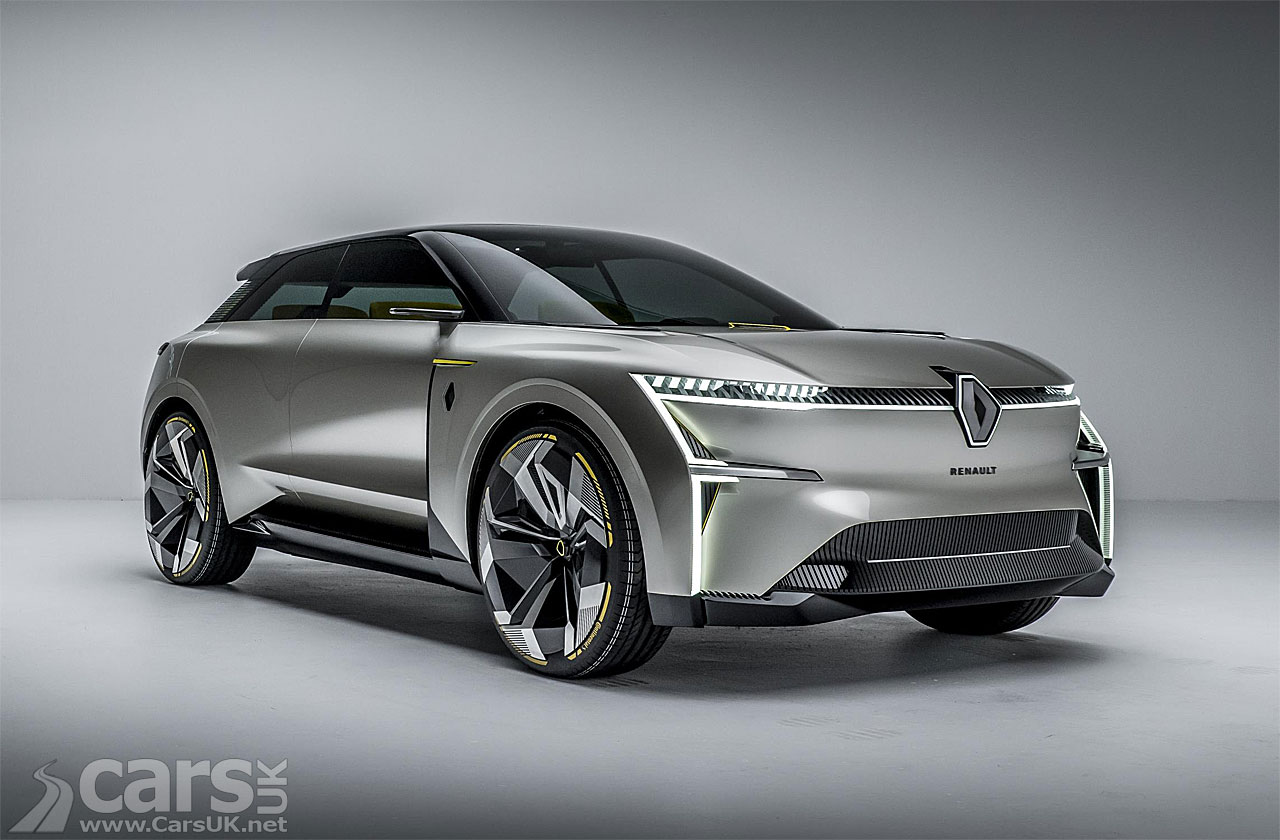 Photo Renault Morphoz Concept