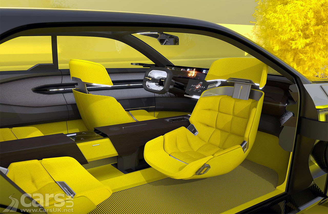 Photo Renault Morphoz Concept Interior