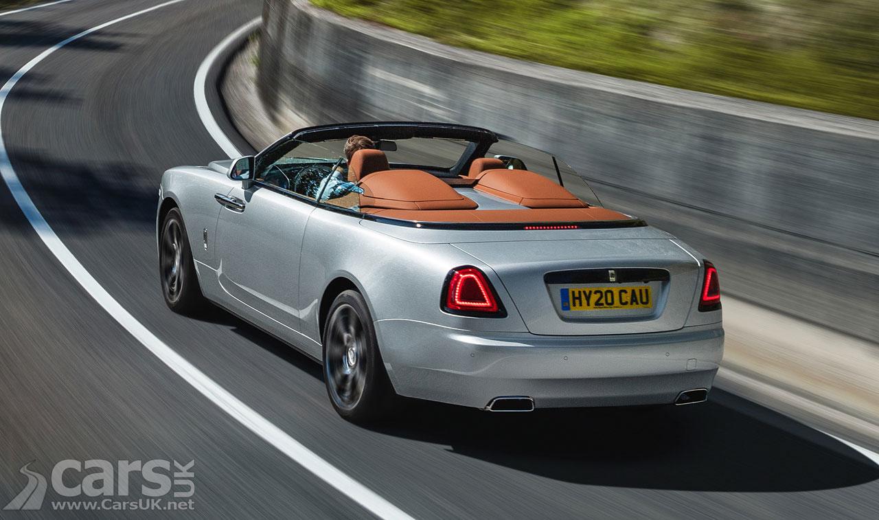 Photo Rolls-Royce Dawn Silver Bullet