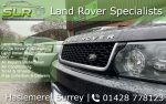 SLR Automotive | Range Rover & Land Rover Specialists Surrey