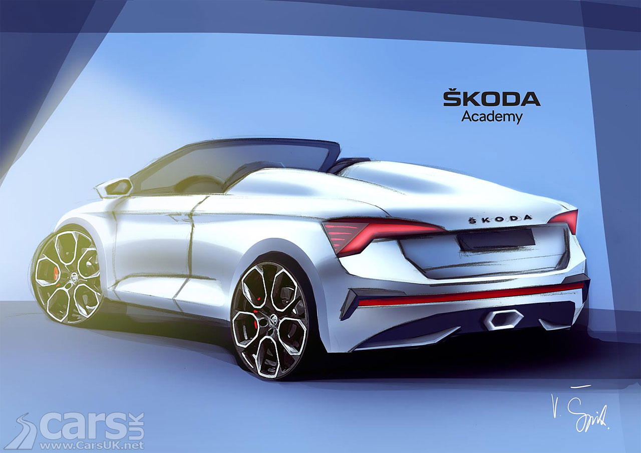 Photo Skoda Scala SPIDER