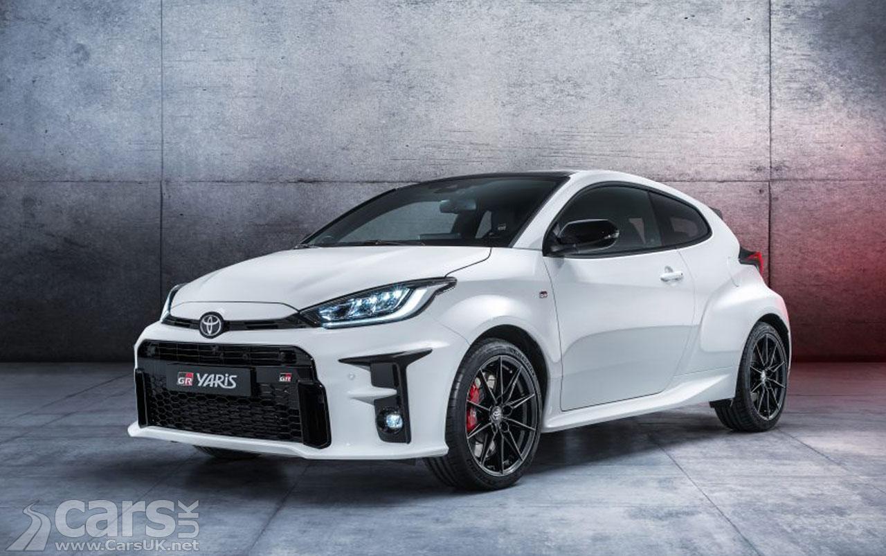 Photo Toyota GR Yaris UK price