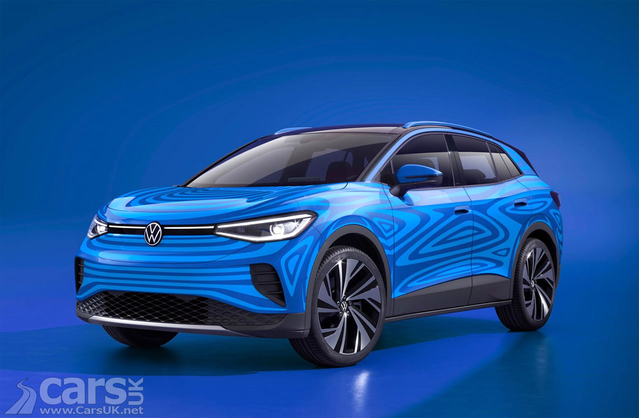 Photo Electric Volkswagen ID.4 SUV previewed