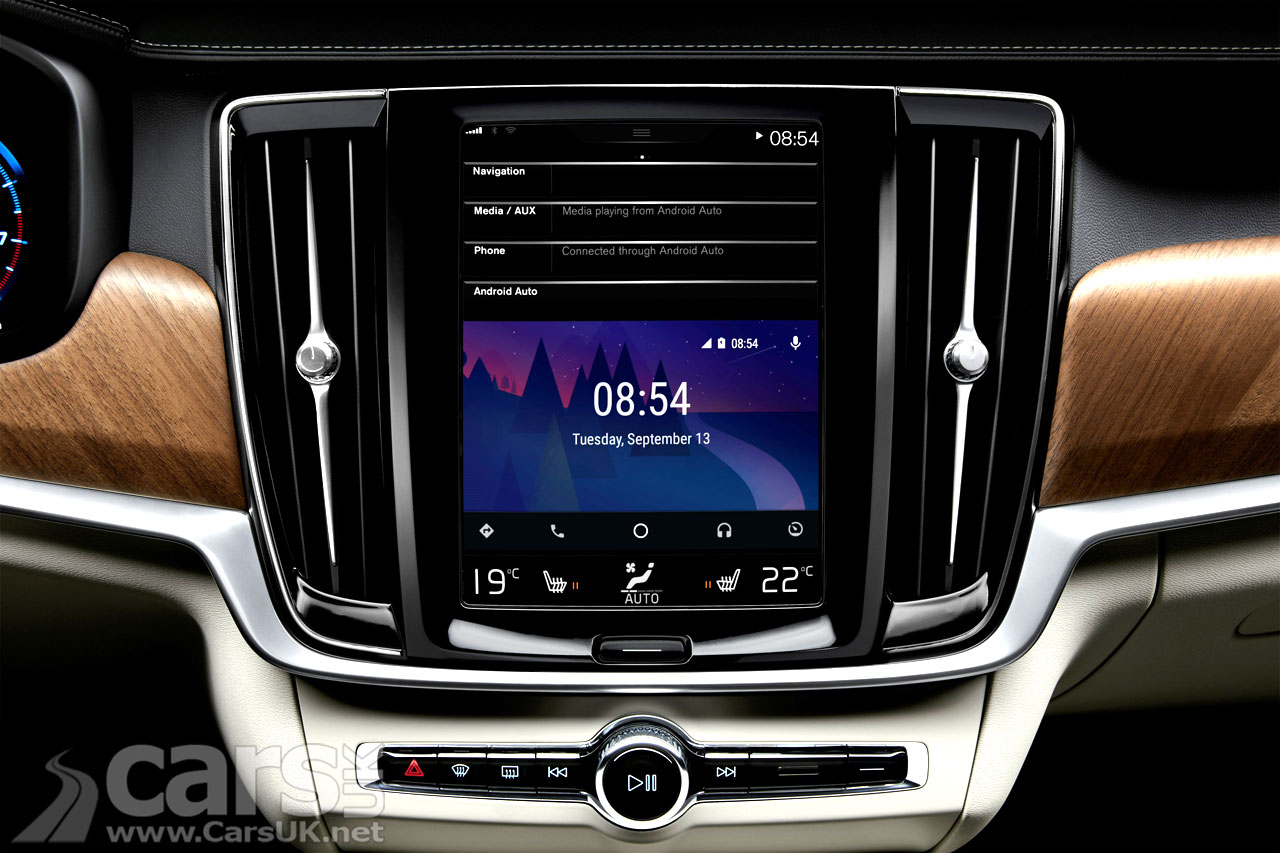 Photo Android Auto Volvo