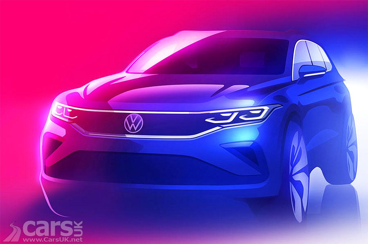 Photo 2020 Volkswagen Tiguan facelift tease