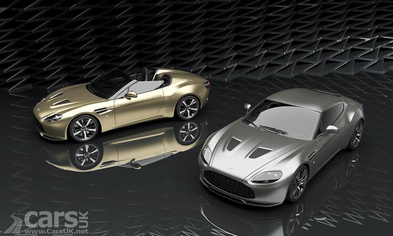 Photo Aston Martin V12 Vantage Zagato and V12 Zagato Speedster Twins