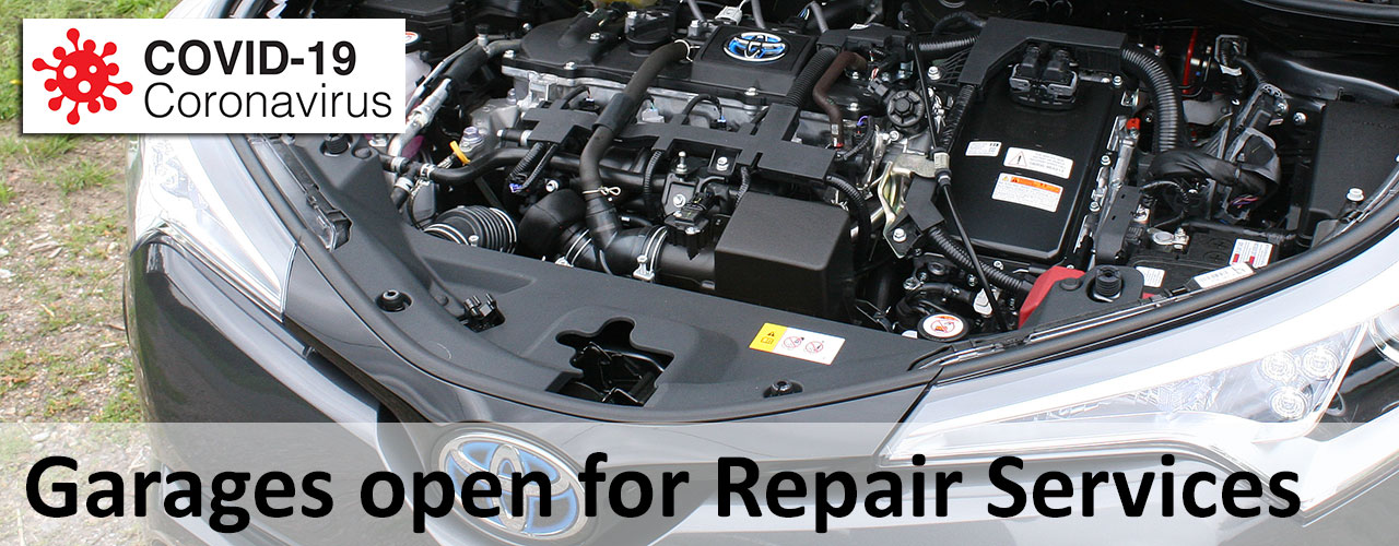 Photo Garages OPEN for car repair during COVID-19