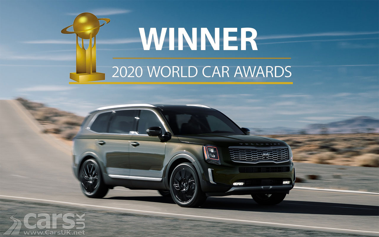 Photo Kia Telluride is the 2020 World Car of the Year