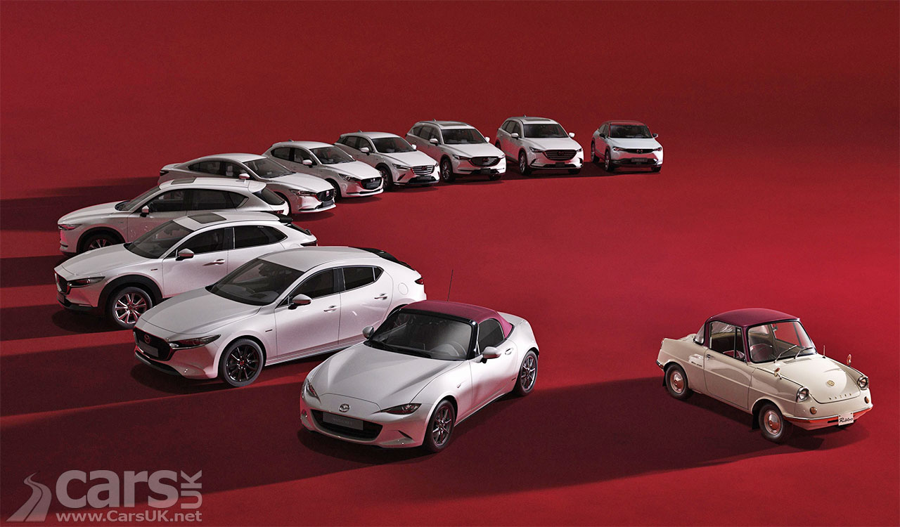 Photo Mazda 100th Anniversary Special Edition models