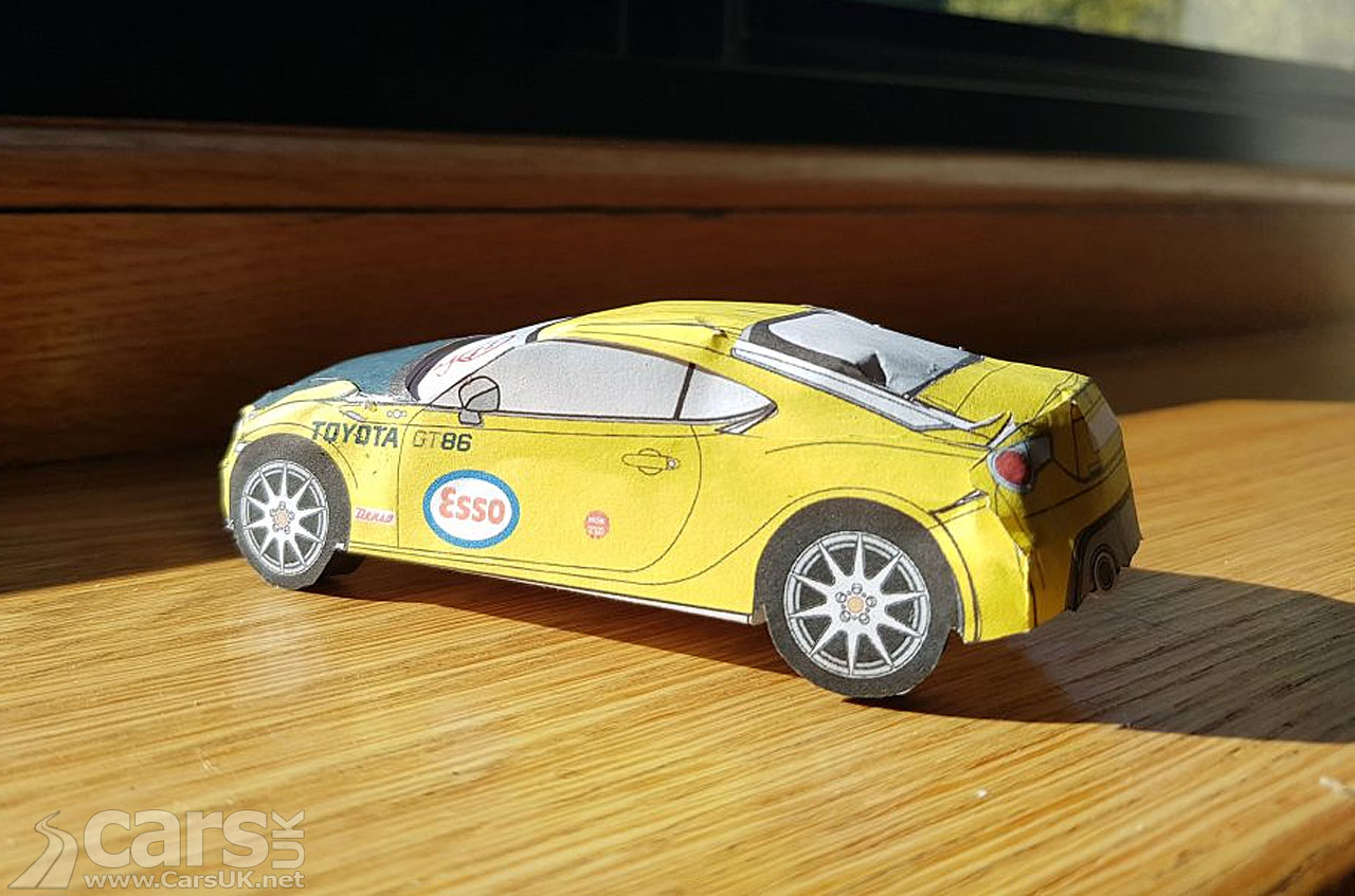 Photo Toyota helps you build your own GT86