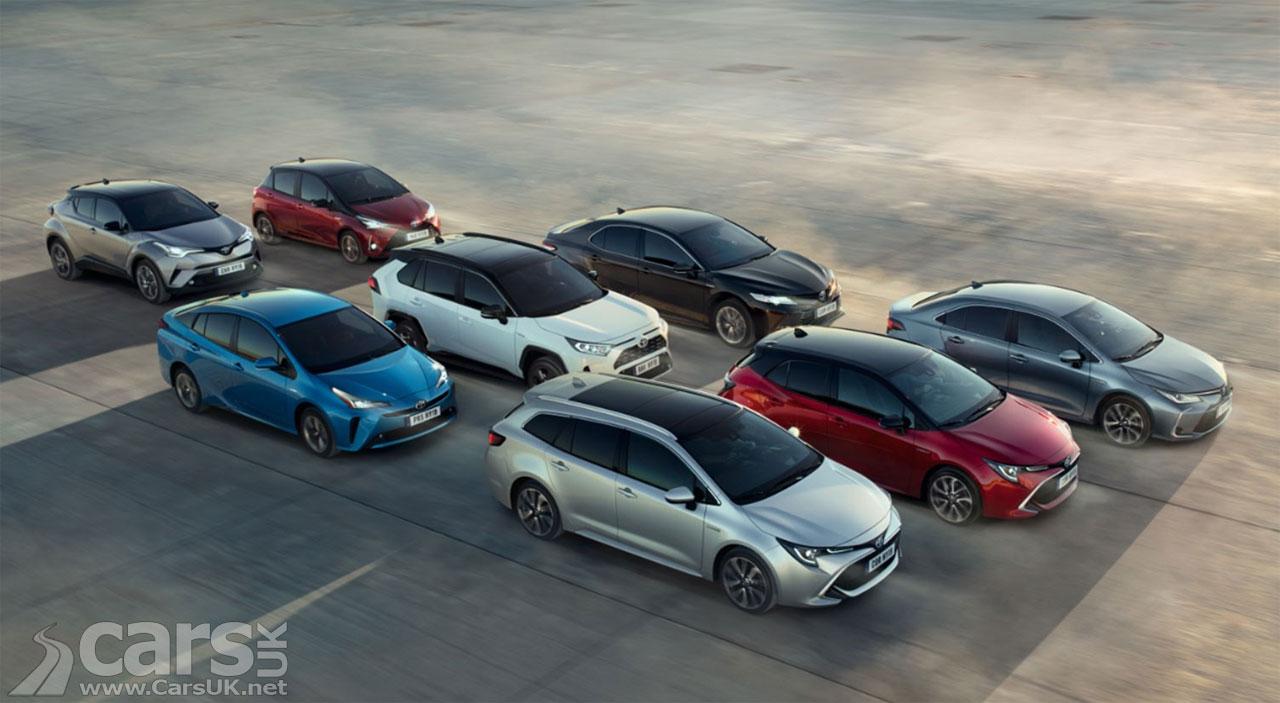 Photo Toyota Hybrid Range UK