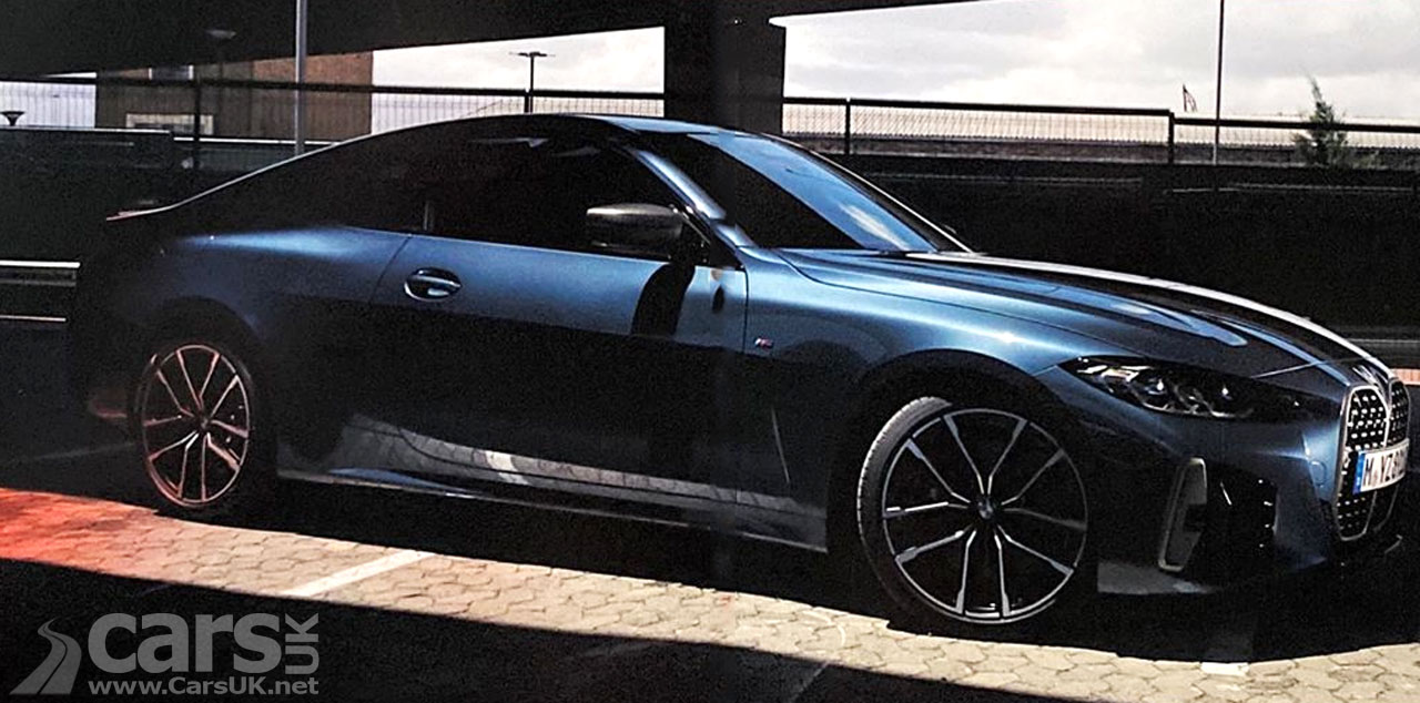Photo New BMW 4 Series Coupe LEAKS