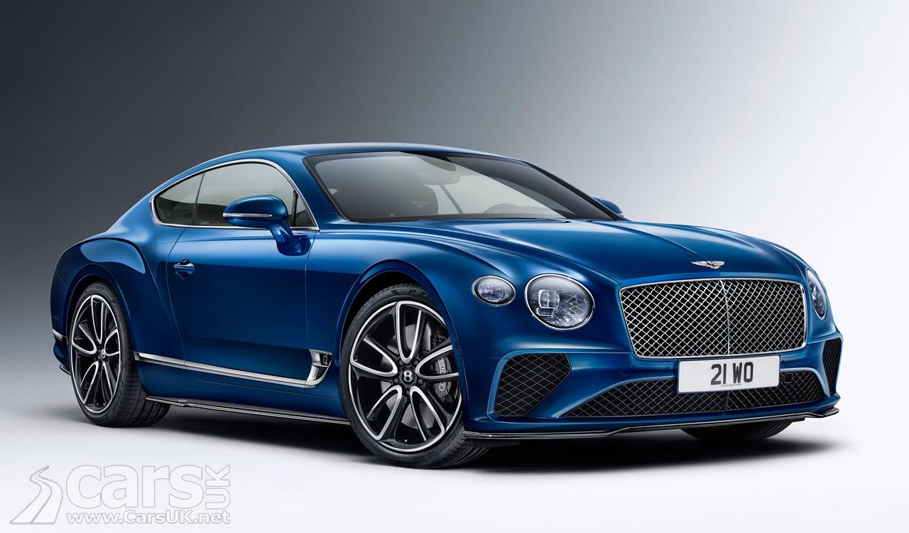 Photo Bentley Continental GT new carbon fibre pack