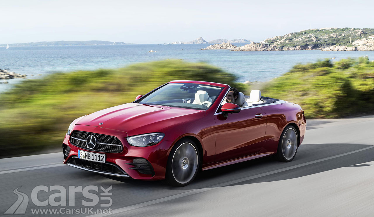 Photo 2020 Mercedes E-Class Cabriolet