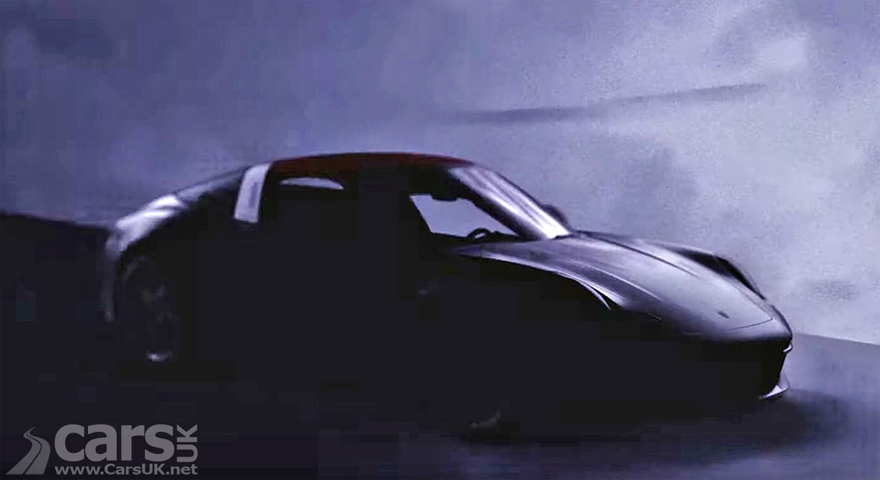Photo new Porsche 911 Targa teaser