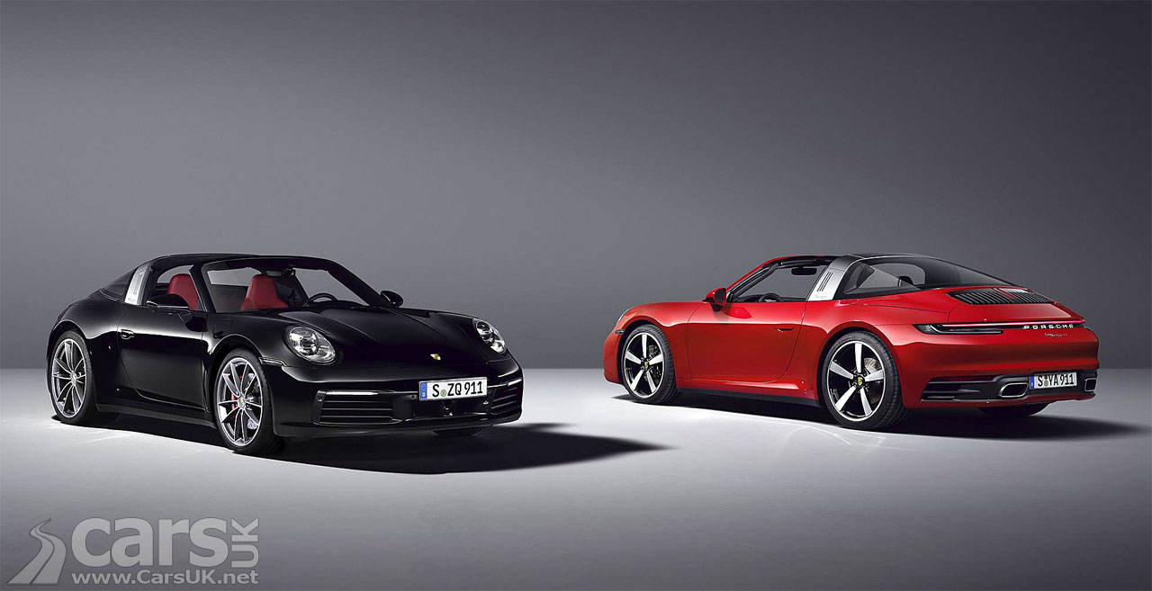 Photo New 2020 Porsche 911 Targa