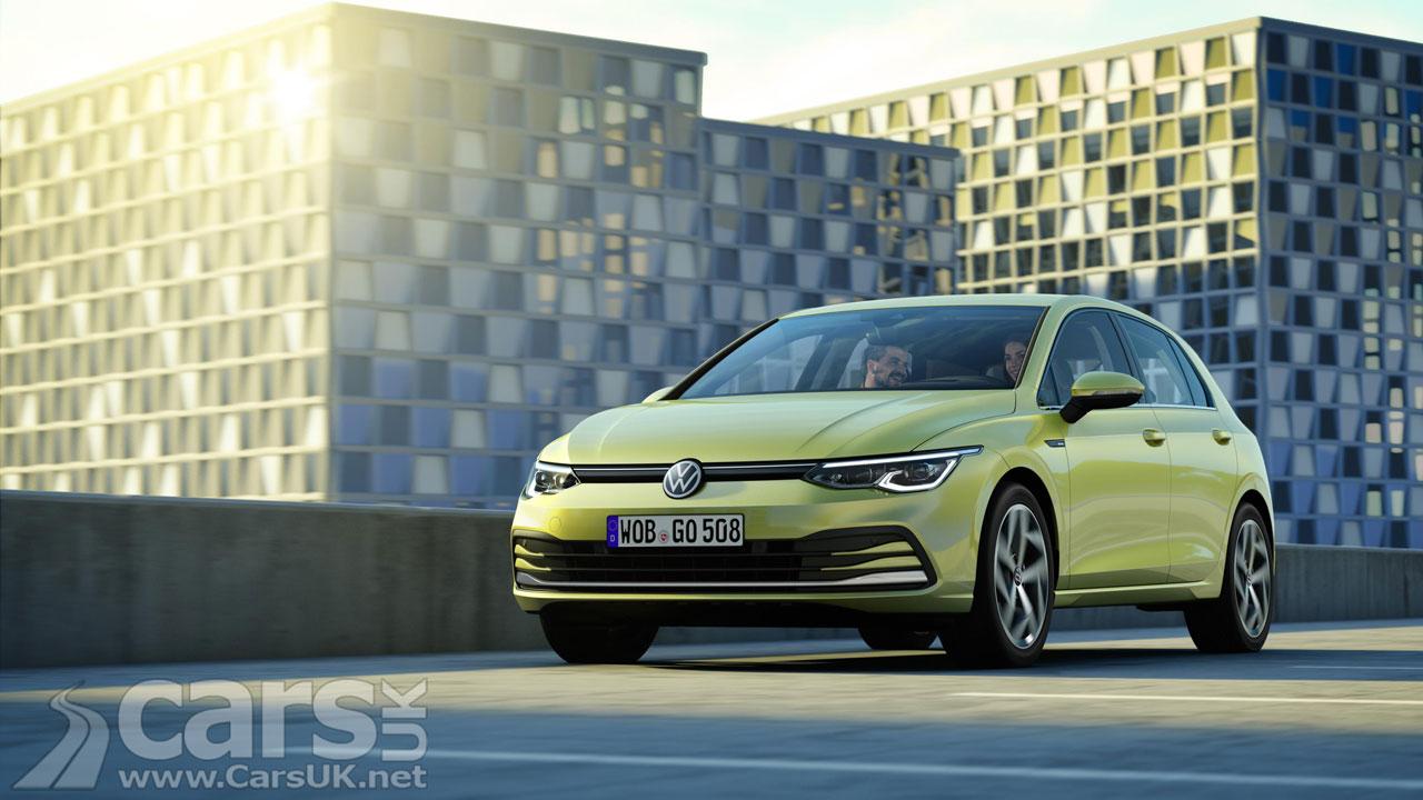 Photo Volkswagen Golf Mk 8
