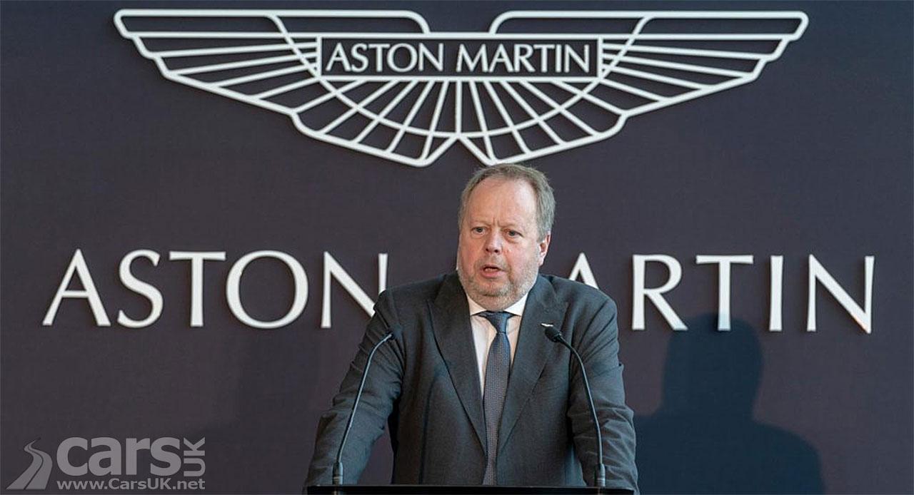 Photo Andy Palmer CEO Aston Martin