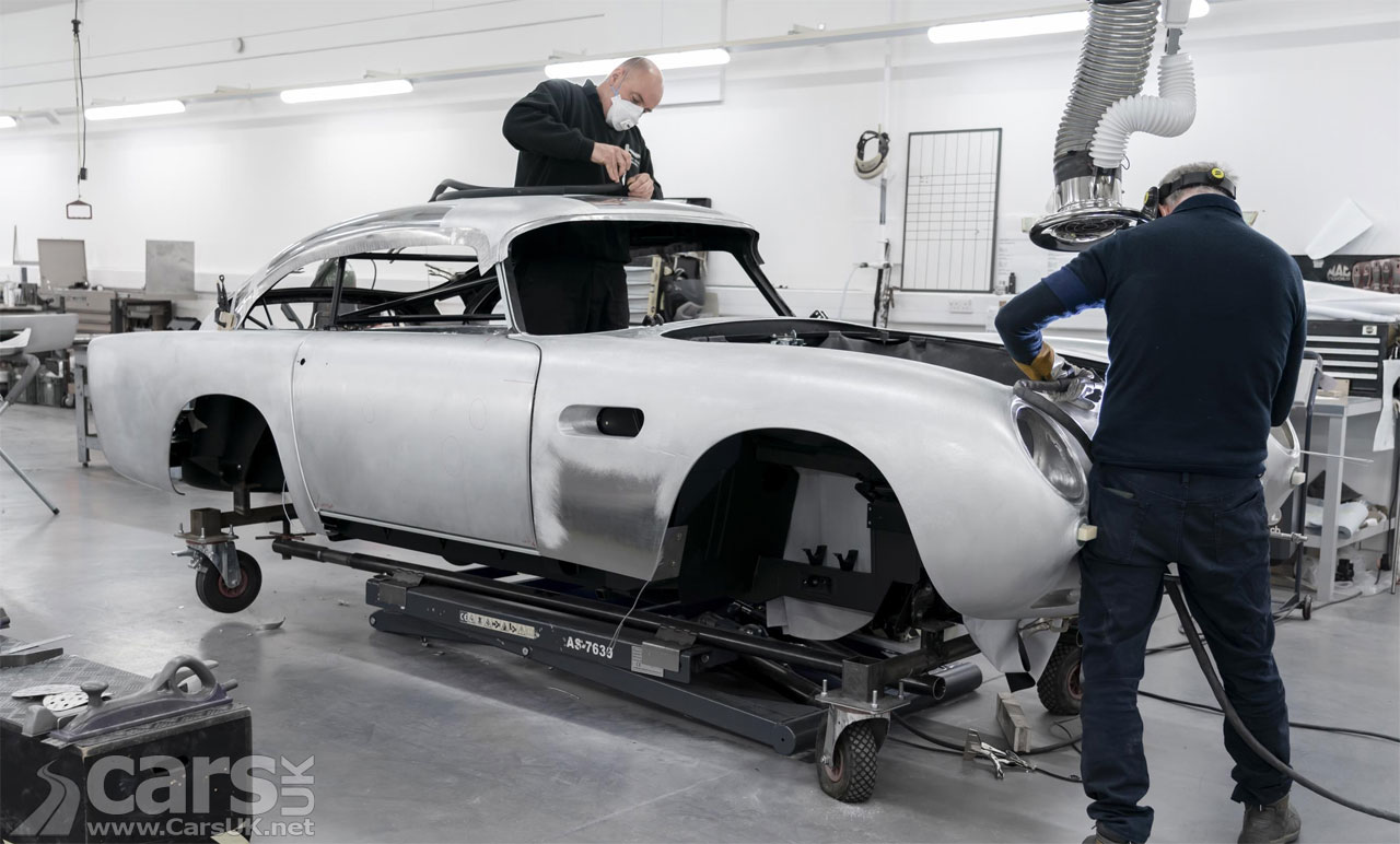 Photo James Bond Aston Martin DB5 Continuation production starts