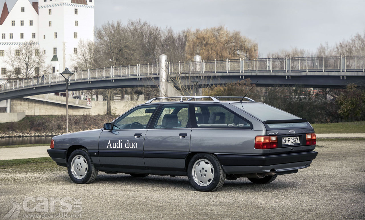 Photo Audi 100 Avant quattro Duo