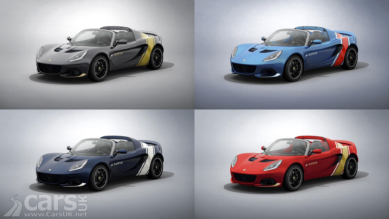 Photo Lotus Elise Classic Heritage Editions