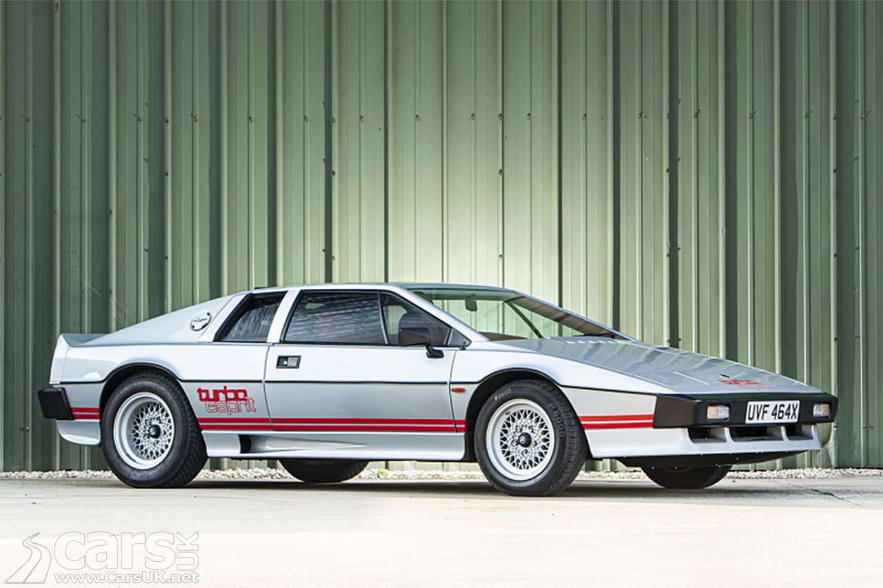 Photo Colin Chapman's last Lotus Esprit up for sale