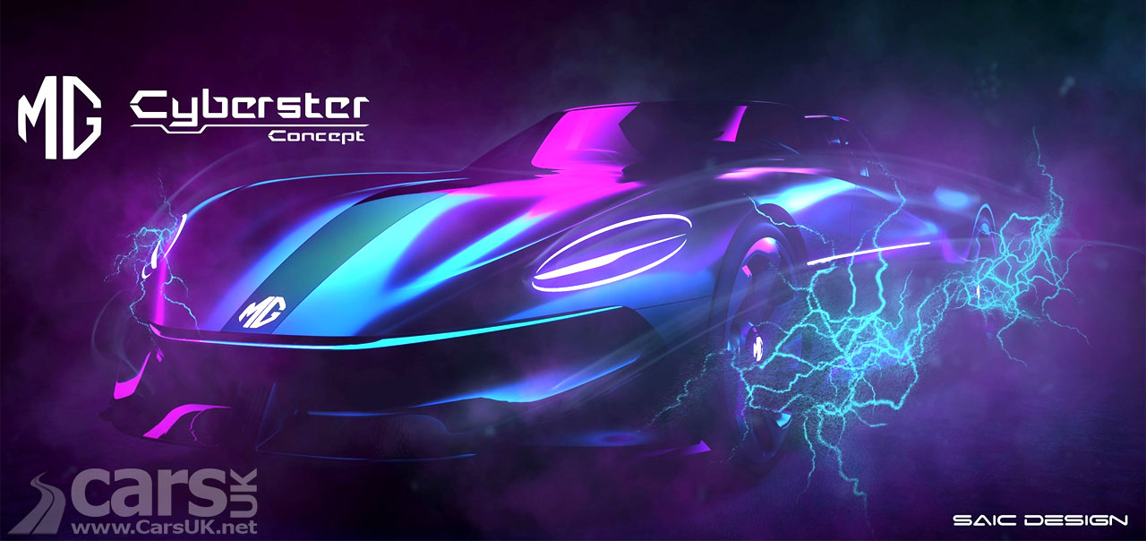 Photo MG Cyberster electric Roadster concept