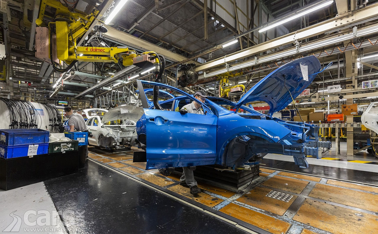 Photo Nissan's Sunderland Plant