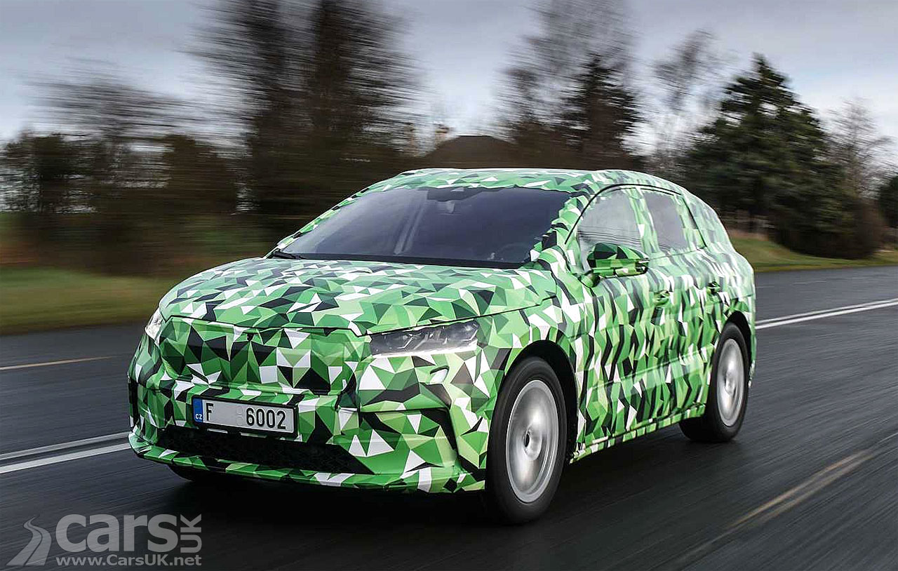 Photo Electric Skoda Enyaq iV teased