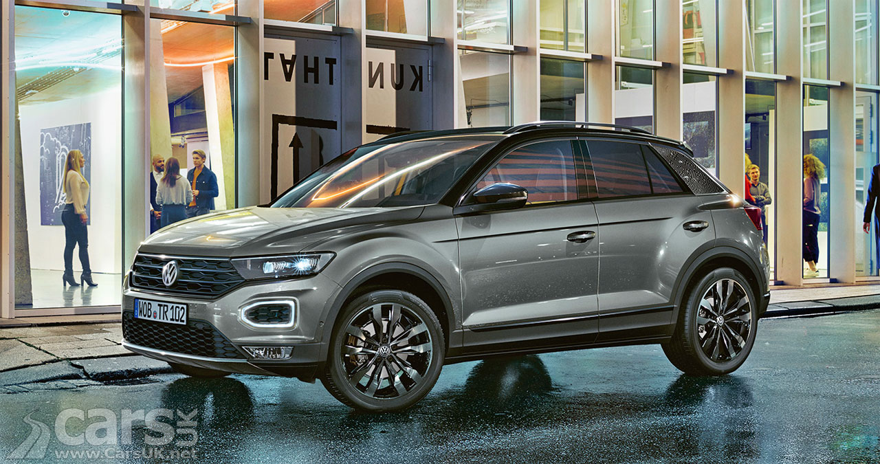 Volkswagen T Roc Black Edition Adds A Dose Of Blackness To The T Roc For Added Showroom Appeal Cars Uk