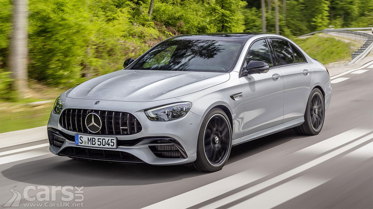Give Pop the Ultimate Dadmobile: The Mercedes-AMG E63 S