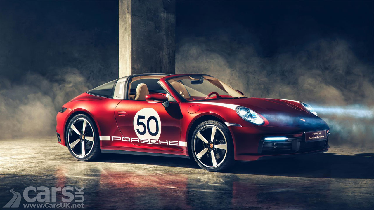 Photo 2020 Porsche 911 Targa 4S Heritage Edition