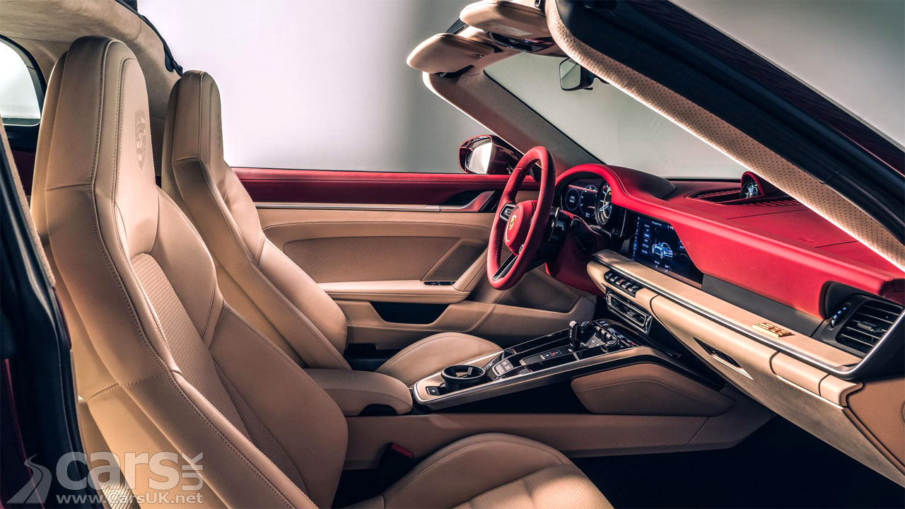 Photo Porsche 911 Targa 4S Heritage Edition Interior