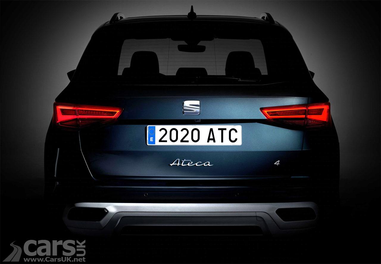 Photo SEAT Ateca facelift TEASER