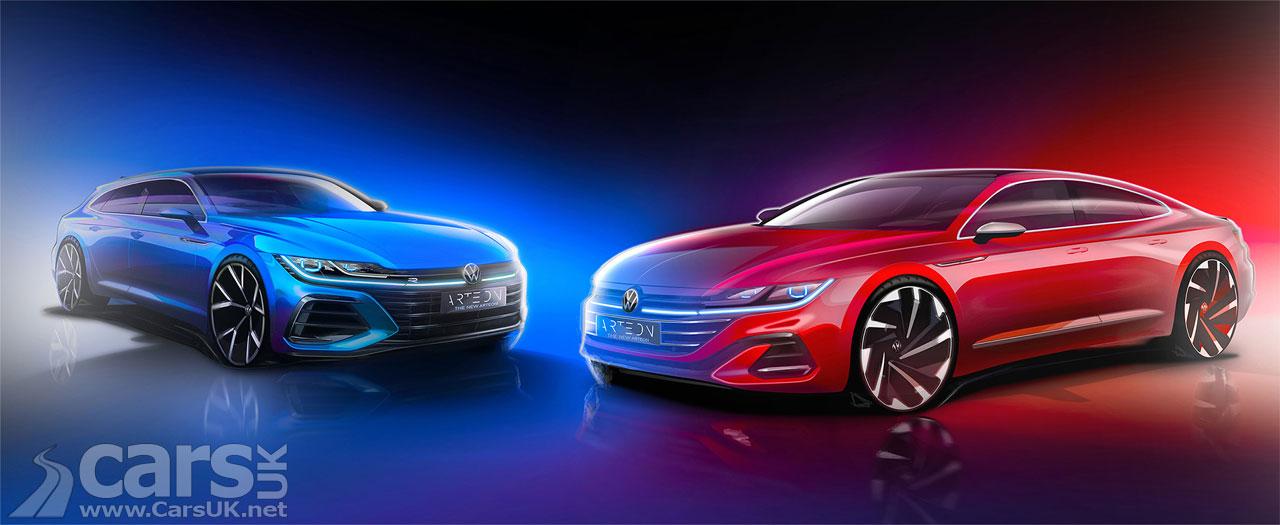 Photo Volkswagen Arteon facelift teaser