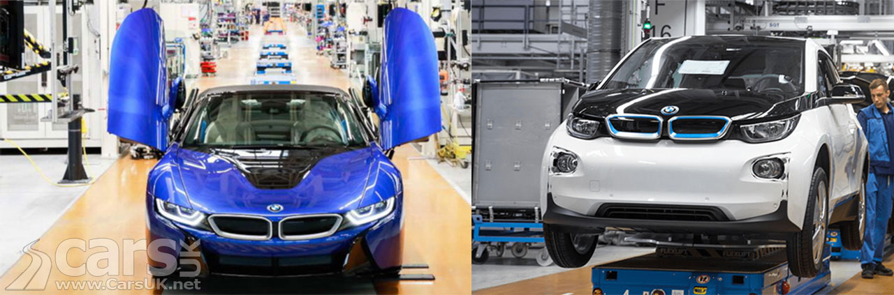 Photo last BMW i8 and i3 production