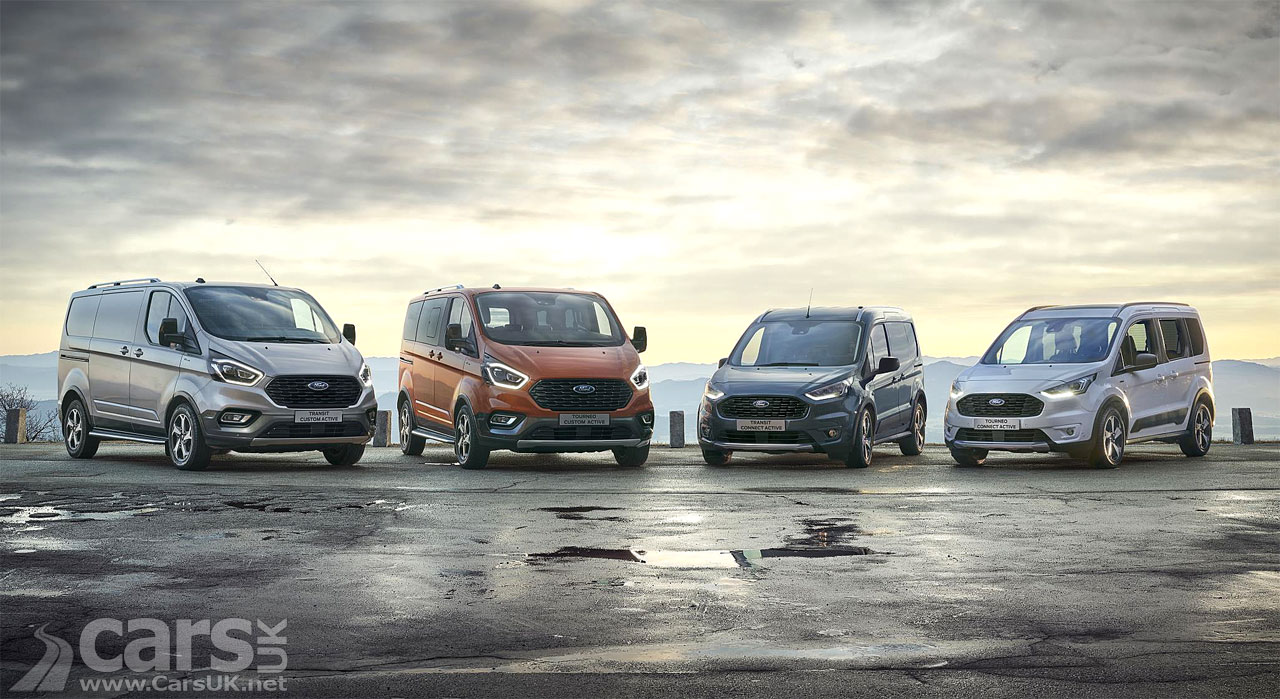 Photo Ford Transit and Tourneo Active range