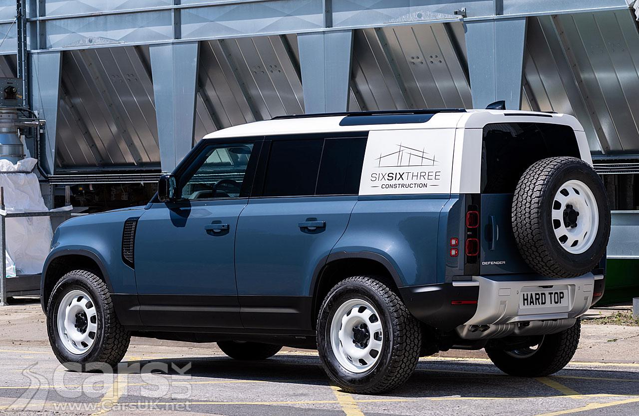Photo Land Rover Defender Hard Top