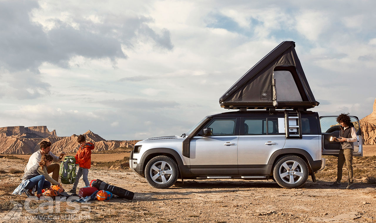 Photo Land Rover Defender Roof Tent