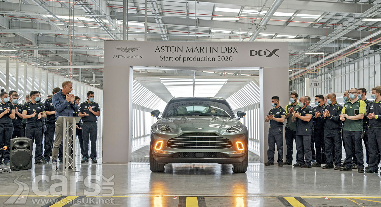 Photo First Aston Martin DBX
